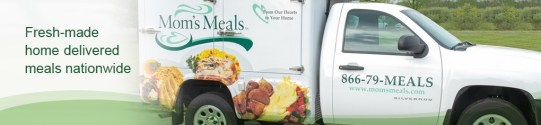 Mom's Meals delivery truck