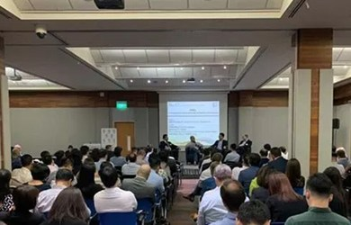 Our CEO spoke at the Energy Transition event at SMF (SG).