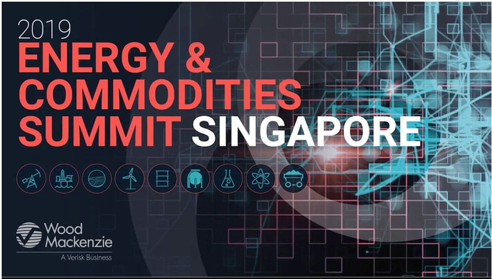 "Our CEO, Nicolas Payen, talking at the WoodMac ""Singapore Energy and Commodity Summit 2019 """
