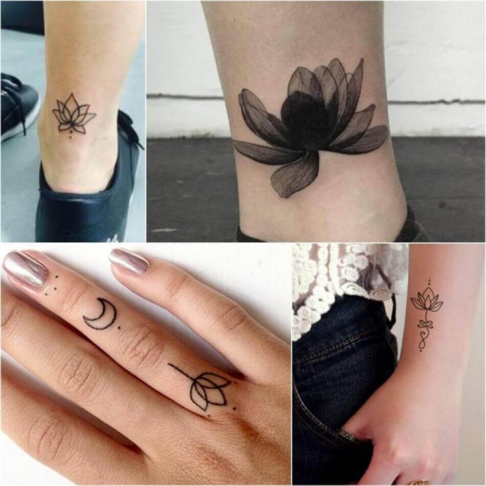 Lotus Flower Tattoo Designs Small Kayaflowerco