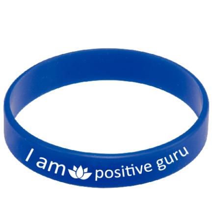 new blue wrist band