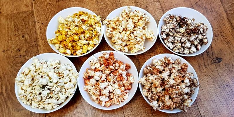 Low FODMAP Popcorn