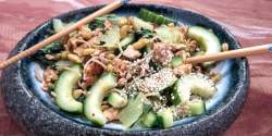 low FODMAP bok choy noodles