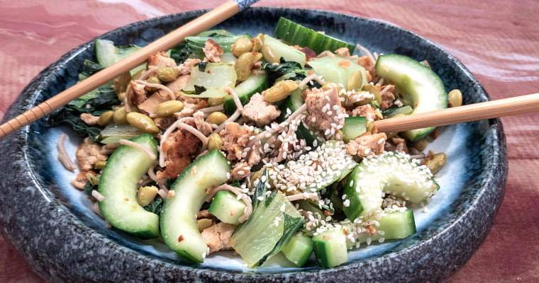 low FODMAP Bok Choy Noodles