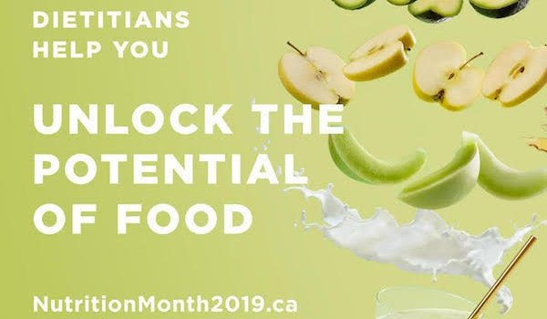 Nutrition Month 2019 Unlock the Potential of Food