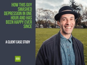 How This Guy Smashed Depression in One Hour