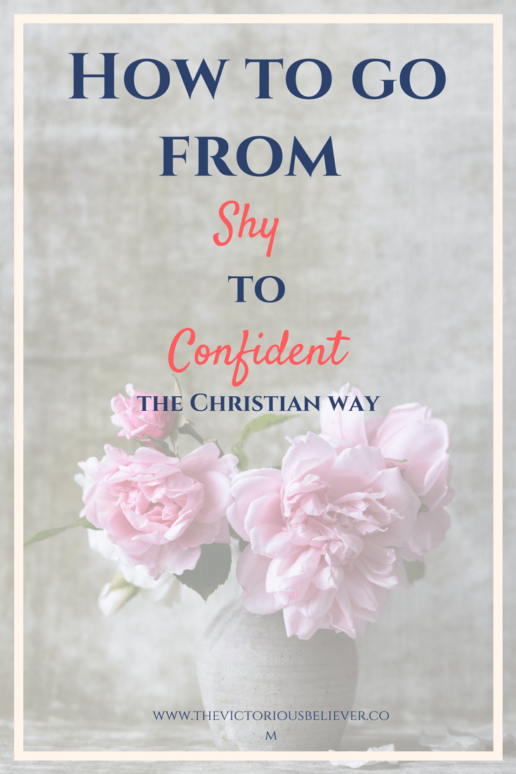 How to go from shy to confident Christian way
