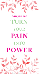 Learn how you can turn your pain into power and use it as motivation for success. #besuccessful #bestlife