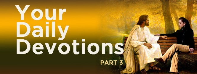Your Daily Devotions (3)