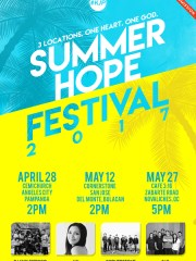 SUMMER HOPE FESTIVAL 2017: ANGELES CITY