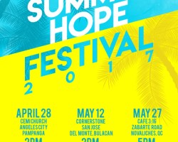 SUMMER HOPE FESTIVAL 2017: NOVALICHES