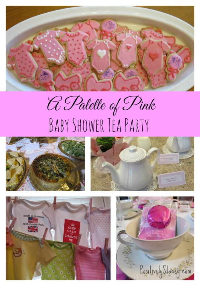 A Palette of Pink Baby Shower