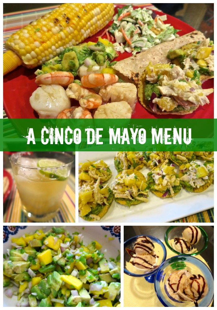 A Cinco De Mayo Menu