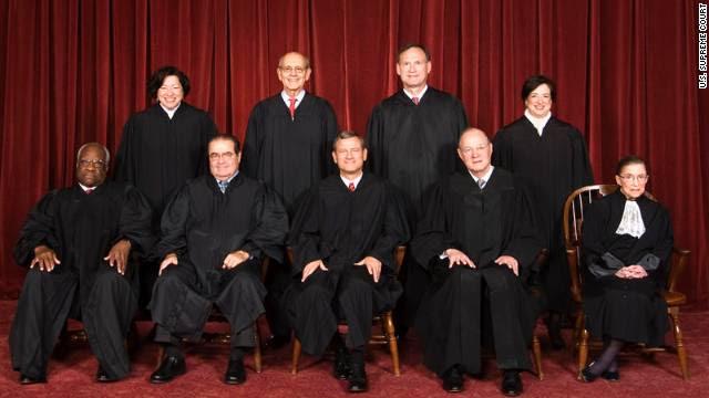 2010 US Supreme Court Class Photo