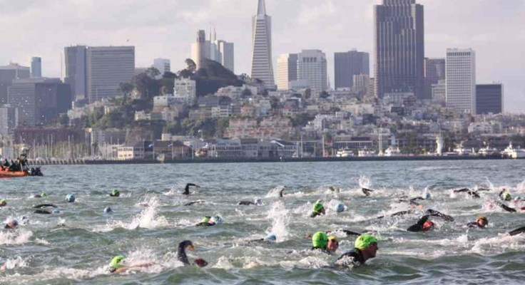 Training to Swim Alcatraz