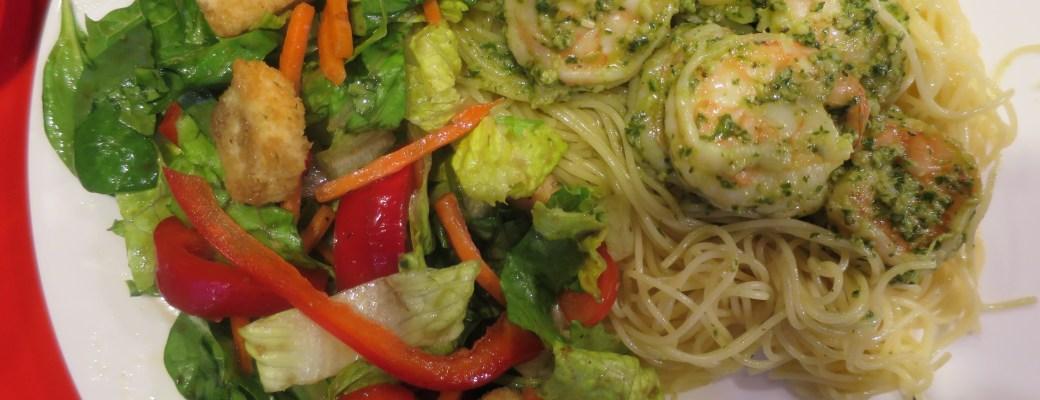Pesto Shrimp – A Family Favorite