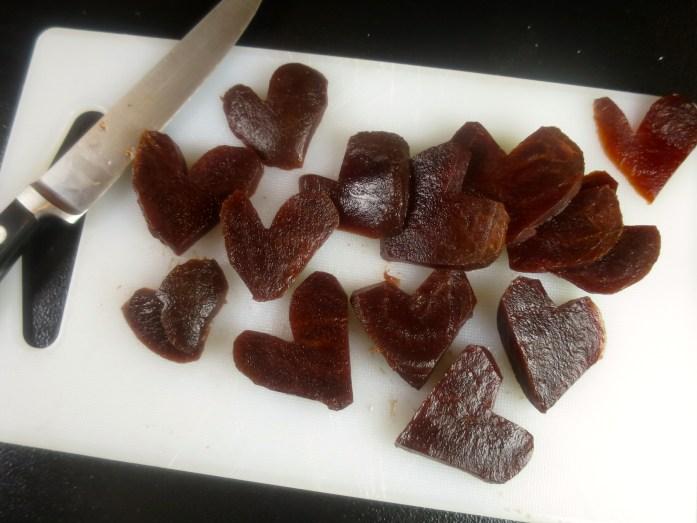 Heart Shaped Beets