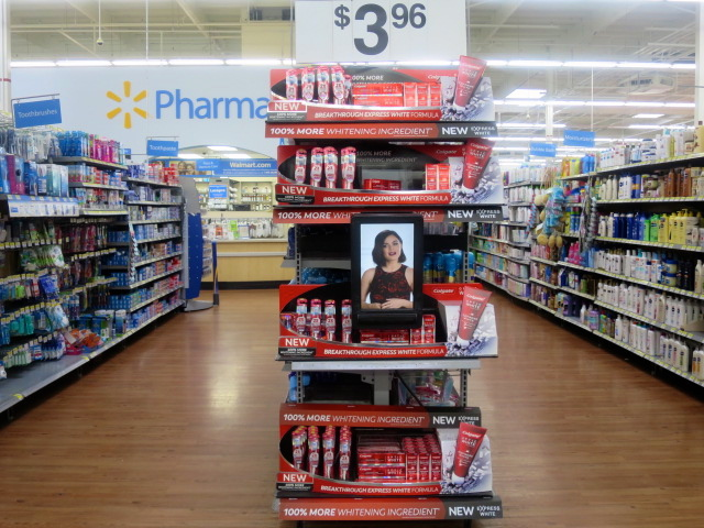 Walmart Optic White Express