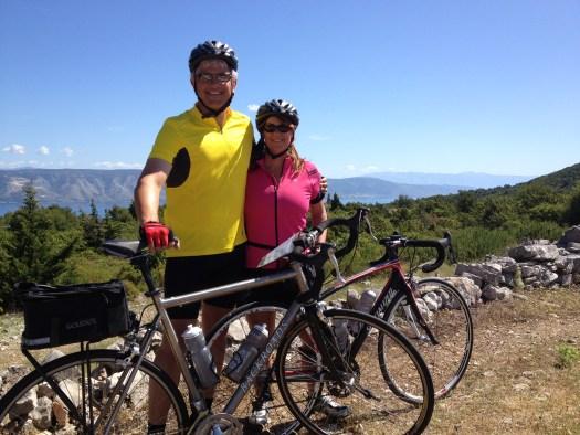 Biking in Croatia