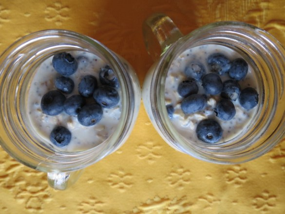 Top it off with a few more blueberries.