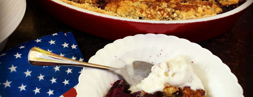 Extra Easy Blueberry Cobbler Recipe