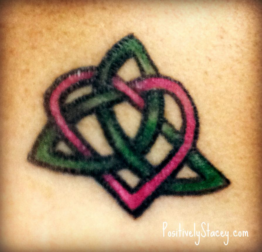 a celtic sister knot tattoo. Black Bedroom Furniture Sets. Home Design Ideas