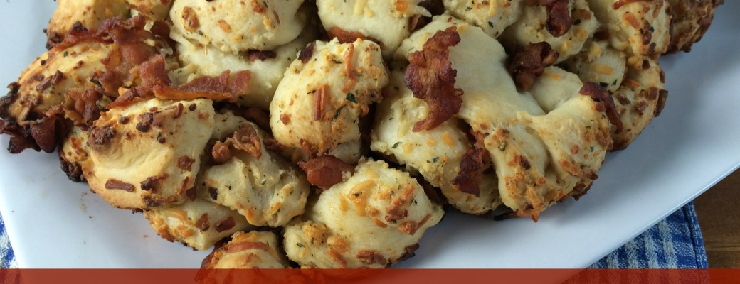 Pull-Apart Bacon Bread Recipe