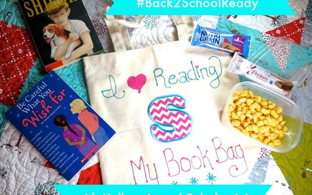 Get #Back2SchoolReady with Kellogg's products and a Scholastic book!