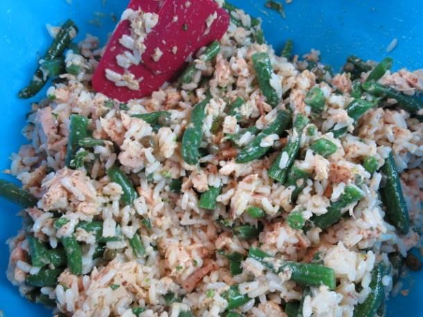 niçoise rice salad