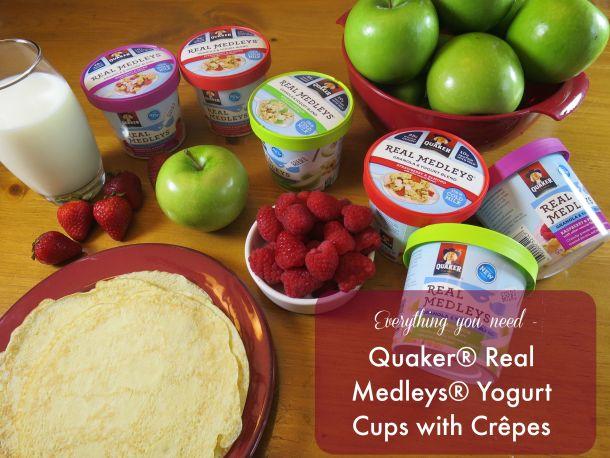 Quaker Cups Ingredients