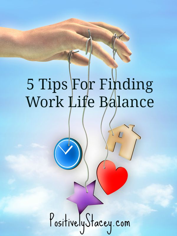 Five Tips For Finding Work Life Balance