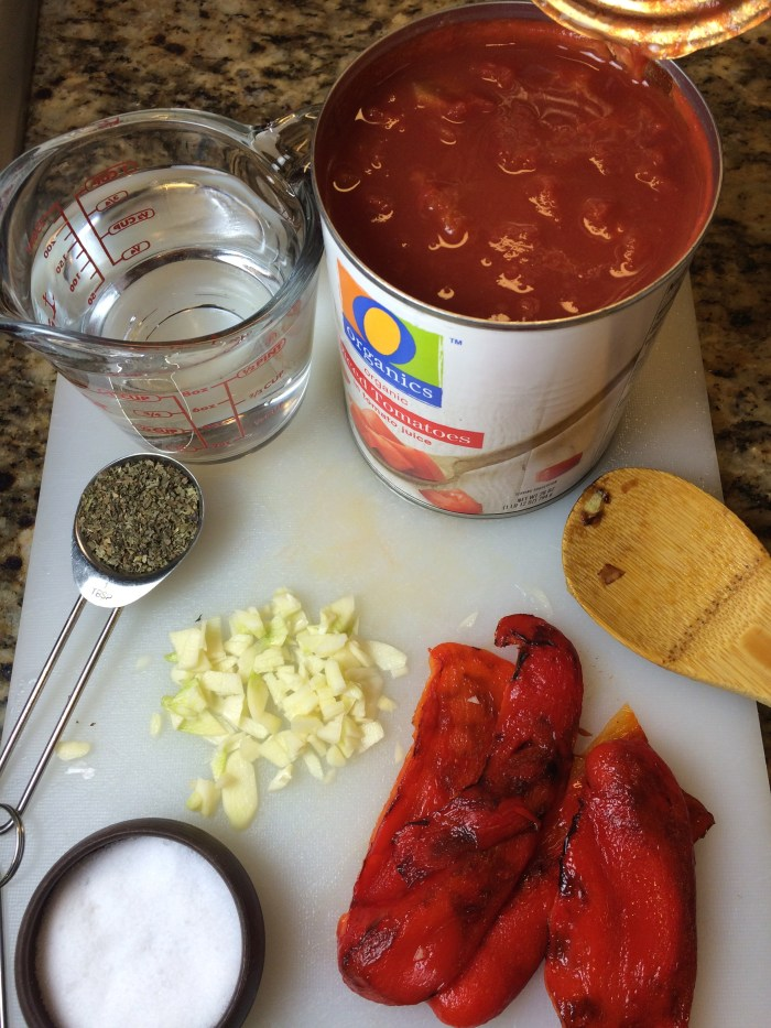 Red Bell Pepper & Tomato Bisque Recipe
