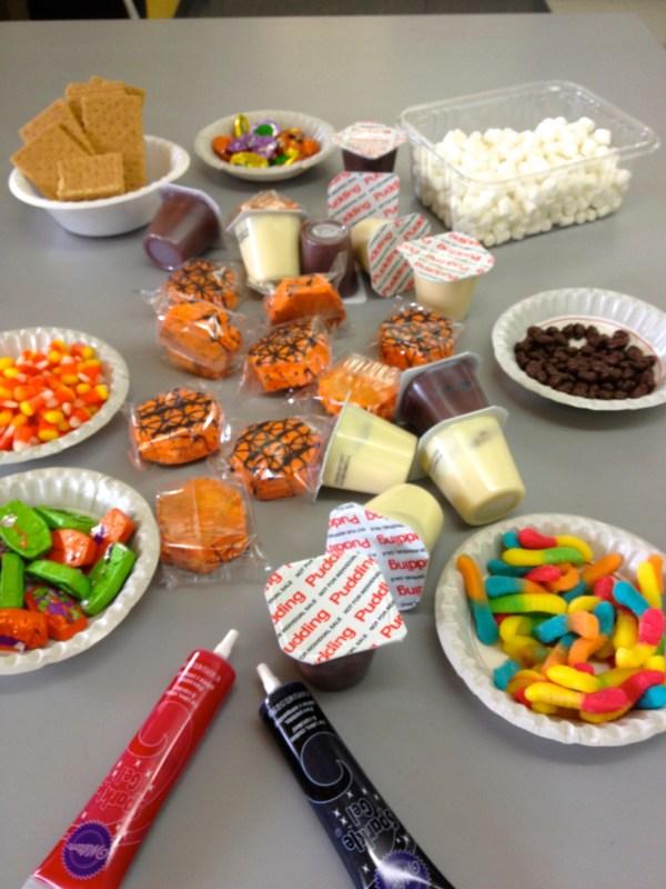 Edible Candy Sculptures for Halloween
