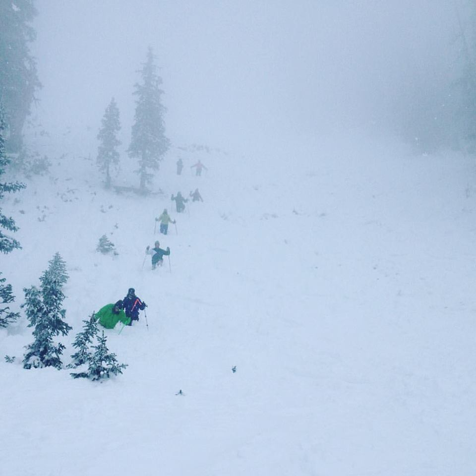 Highland Bowl Bootpacking
