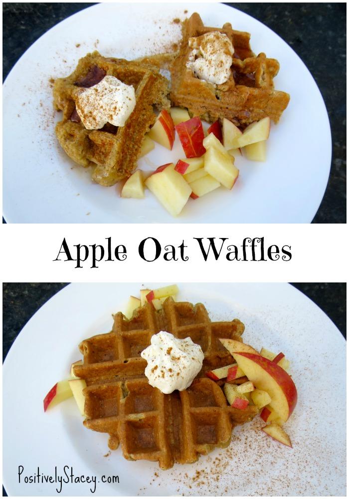 Apple Oat Waffles