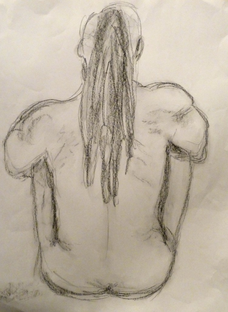 Sketch Nude Man Art