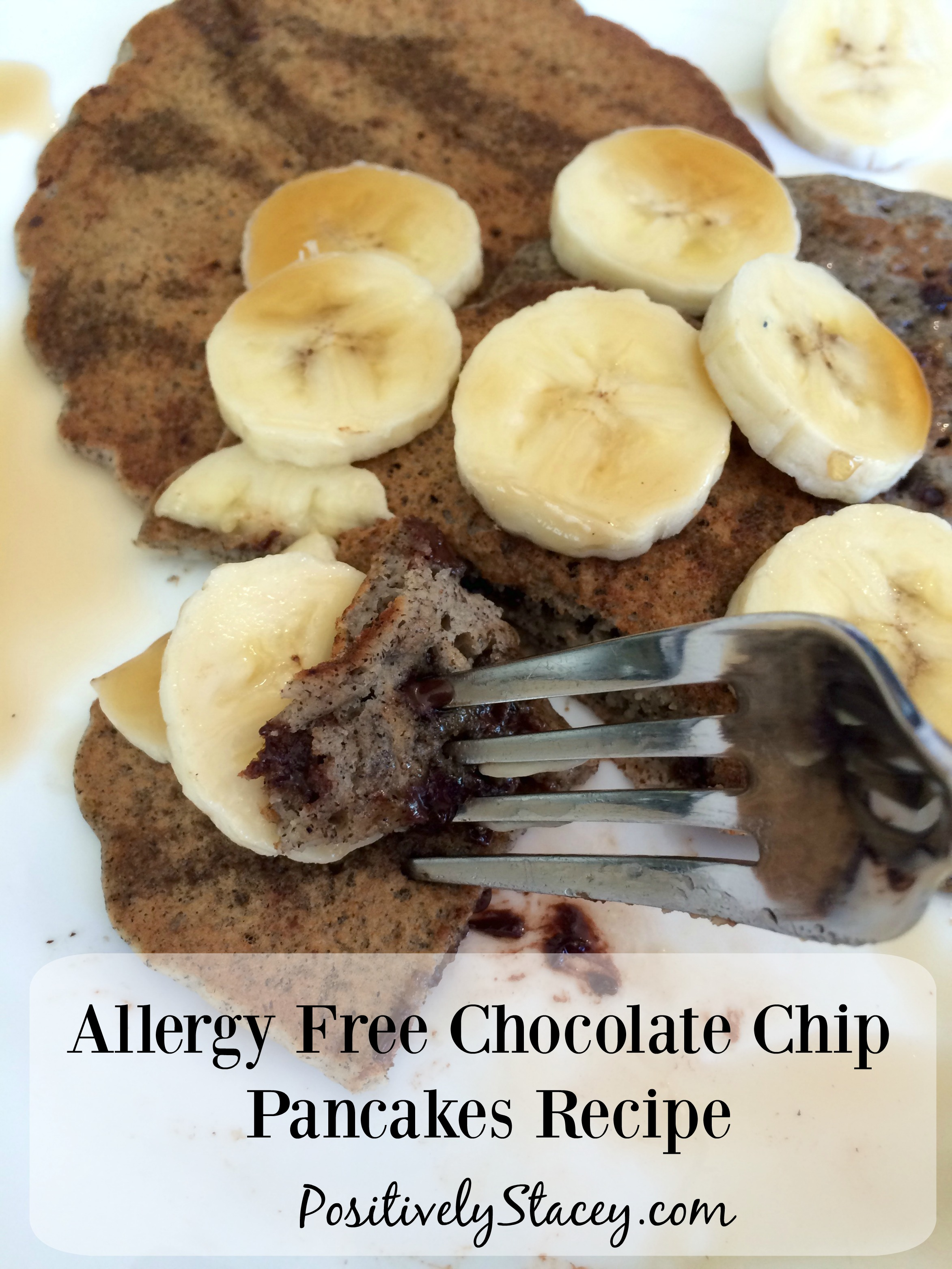 Allergy Free Chocolate Chip Pancakes Recipe - Sooo delicious!!!! And free of the top nine allergens!
