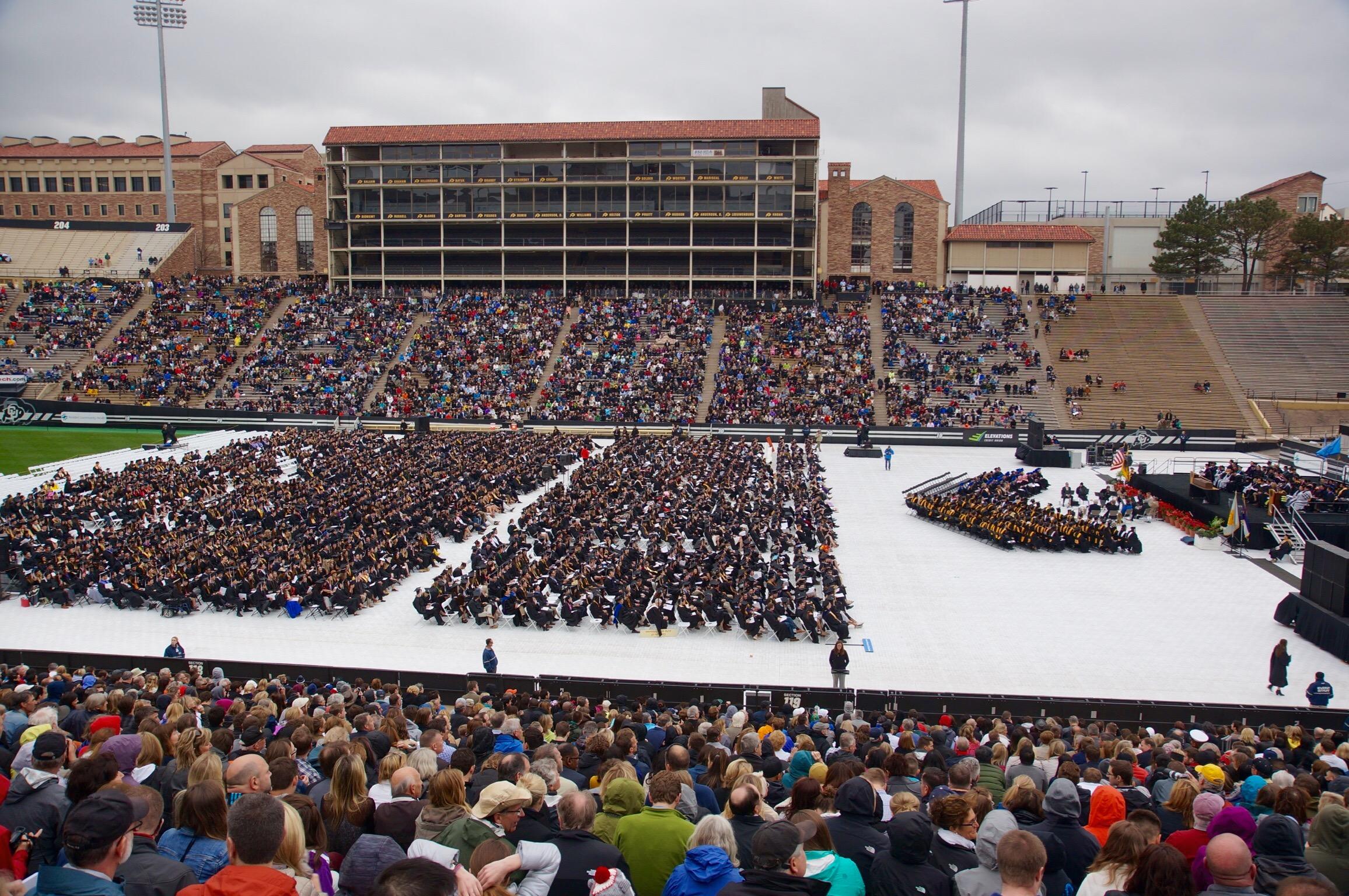 Graduation Boulder, CO