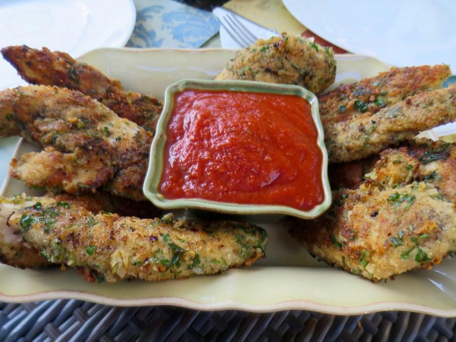 Chicken Tenders Parmesan