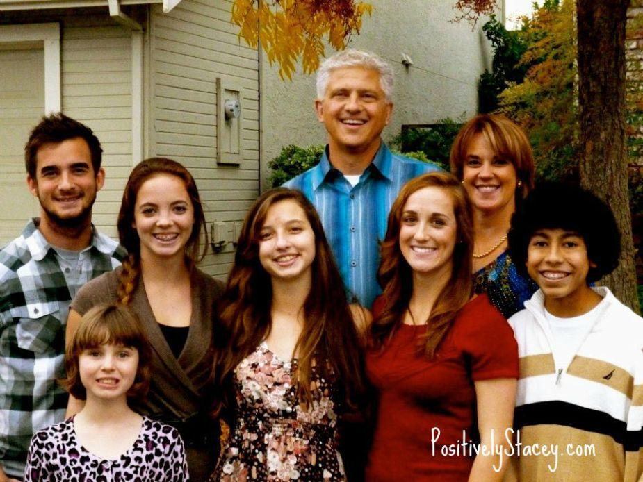 How We Family: Blended Family of Eight