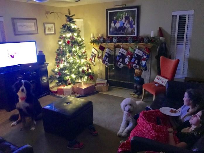 Enjoying an Easy Favorite Family Christmas Movie Night