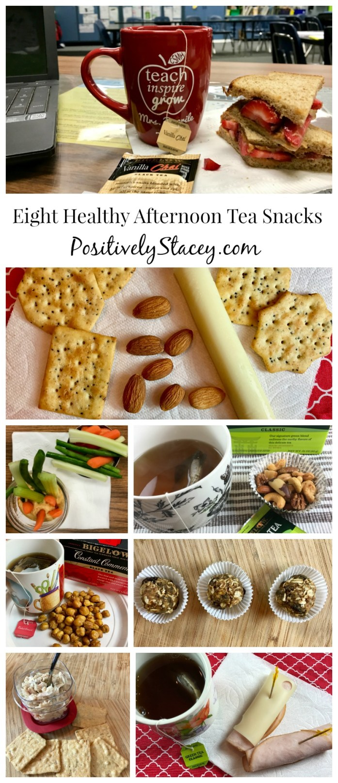 Eight Healthy Afternoon Tea Snacks