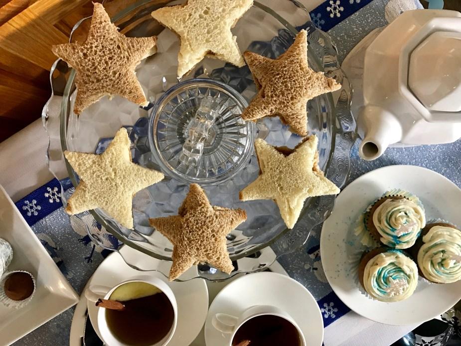 A Child's Winter Wonderland Tea Party Menu