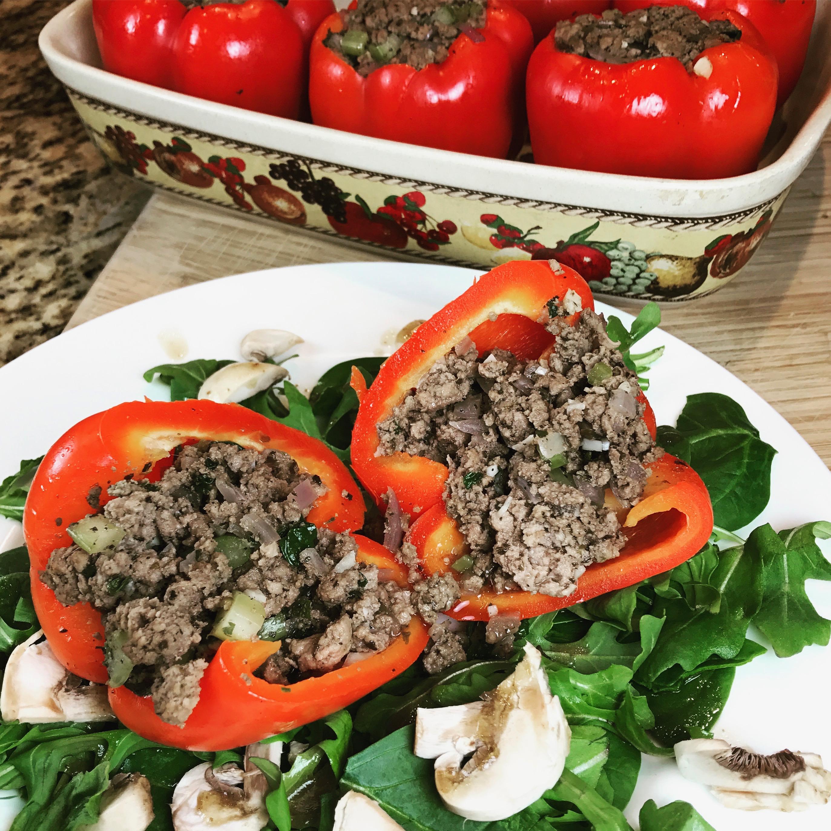 Stuffed Red Bell Pepper Recipe