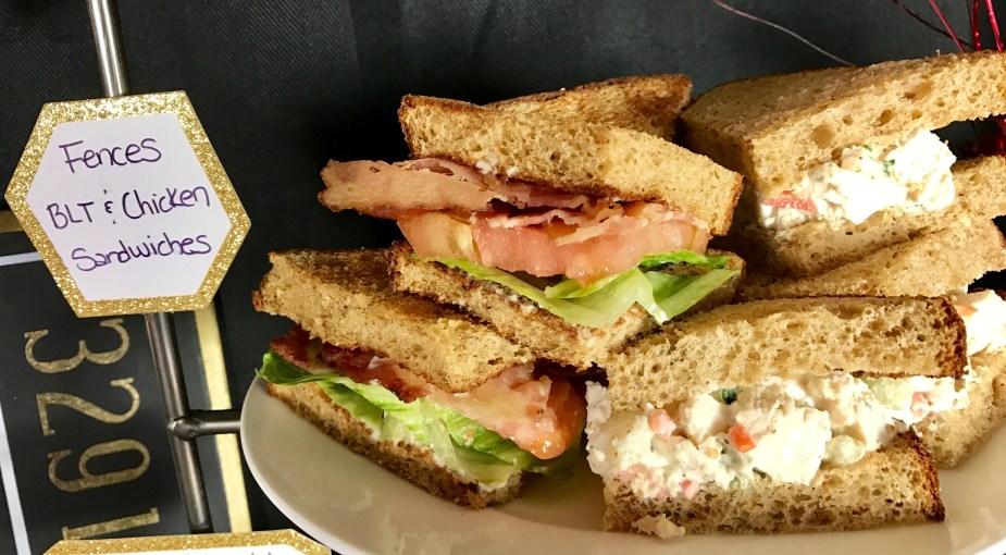 Fences BLT and Chicken Sandwiches