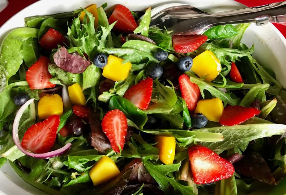 La La Land Green and Fruit Salad