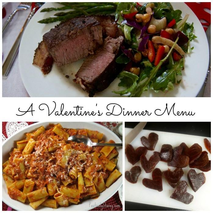 Valentine's Dinner Menu
