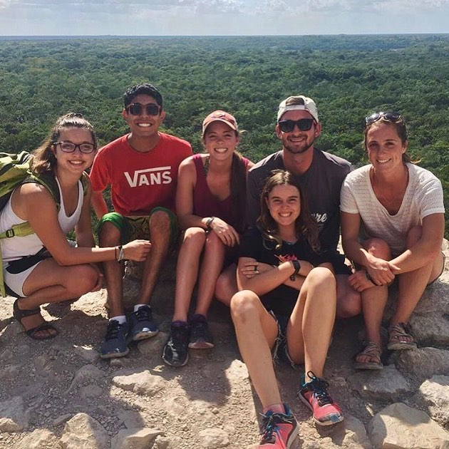 Top of Nohuch Mul, Coba