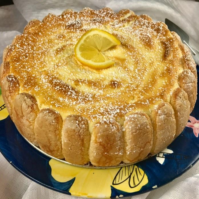 Ladyfinger Lemon Torte Recipe