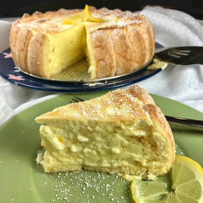 Ladyfinger Lemon Torte